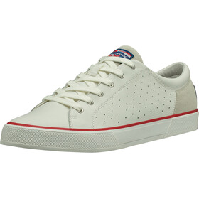 Helly Hansen Copenhagen Scarpe in pelle Uomo, off white/alert red/light grey